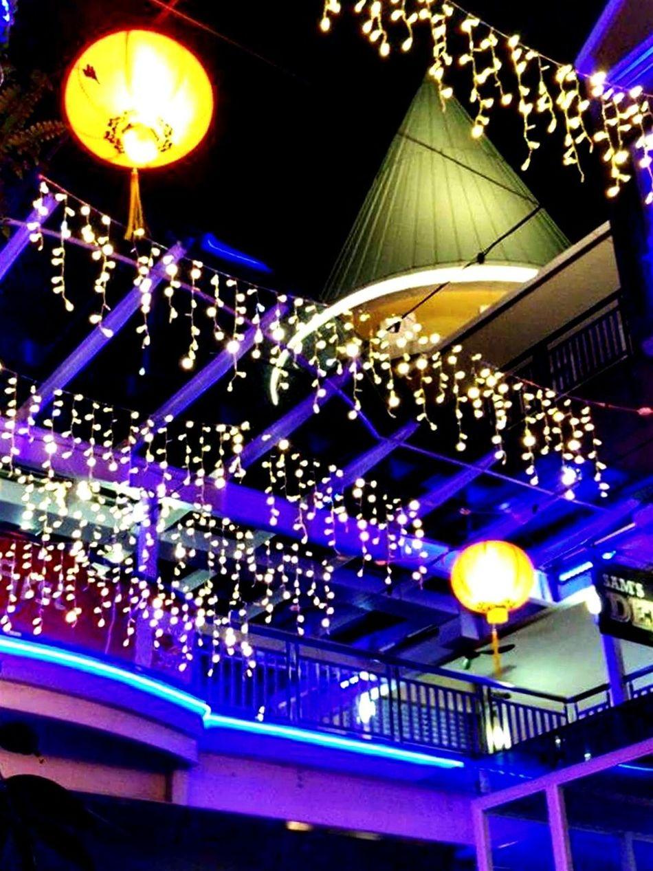 MerryChristmas Light Chinatown Wishing You Happy New Year 2016 Damansara