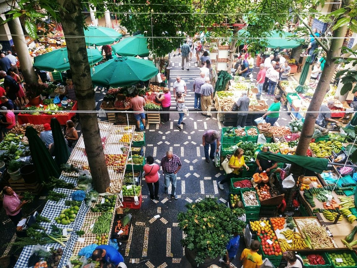 Market Madeira Island Mercados Colour Of Life