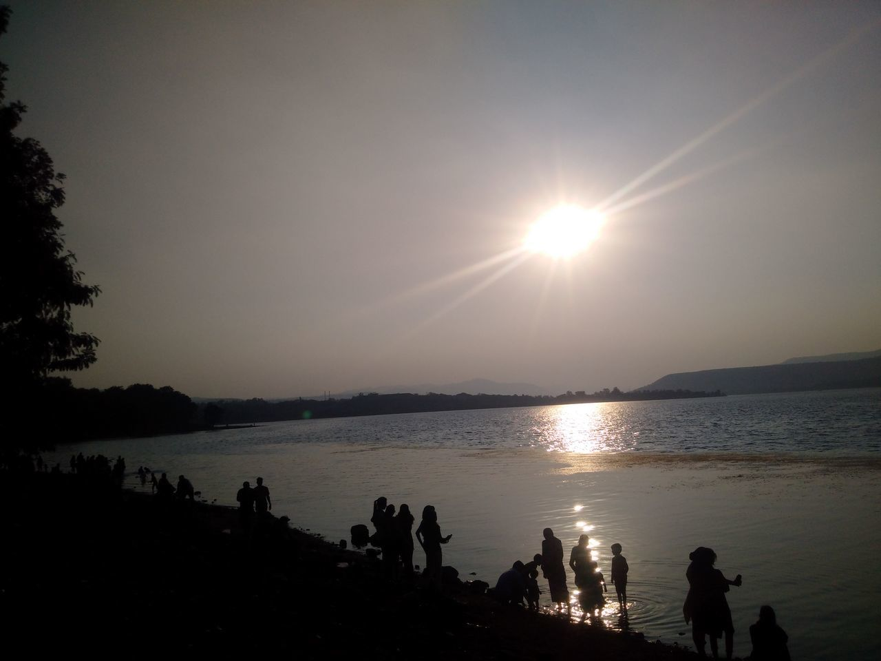 sun, sunset, silhouette, sky, nature, sunlight, water, beauty in nature, scenics, sea, outdoors, scenery, no people