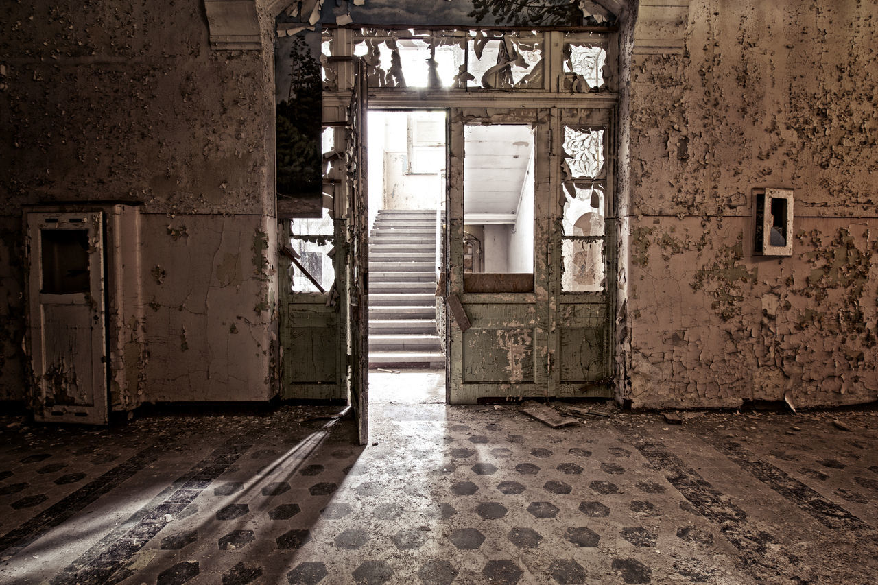 Abandoned Abandoned & Derelict Abandoned Buildings Abandoned Places Architecture Built Structure Day Door Doors Indoors  Lost Place Lost Places No People