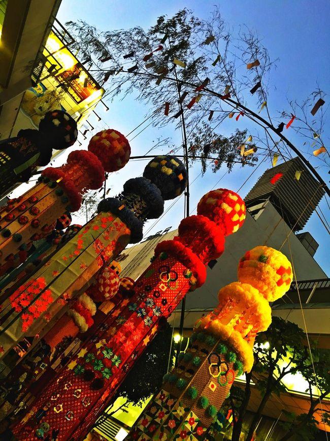 今日は仙台の七夕。仕事帰りにフラッと。織姫、巡り会わんかのぅ〜〜( ´θ`) Tanabata(七夕) Tanabata Festival Sendai Japanese Culture Japanese Style Japanese Traditional Japanese Festival Tadaa Community Miyagi Hello World