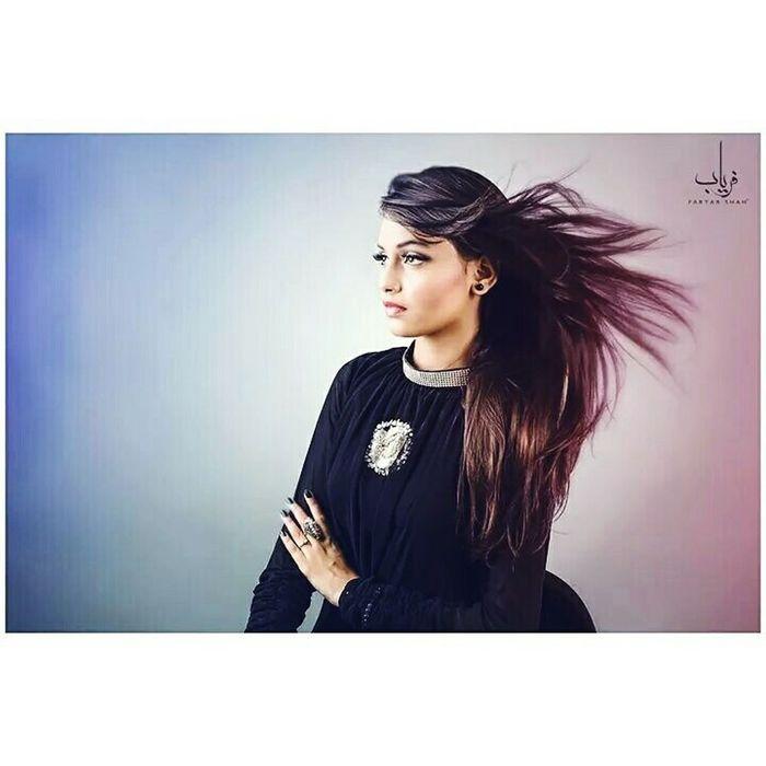 Beauty Fashion Makeup Hair Girlsl Blower Studio Portrait Faryabshah