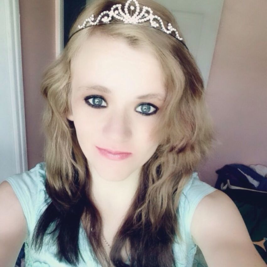 Princess ♥ Beautiful Girly Flawless Thoseeyes Reverse Ombre Ombre Hair Lovely Hello World That's Me