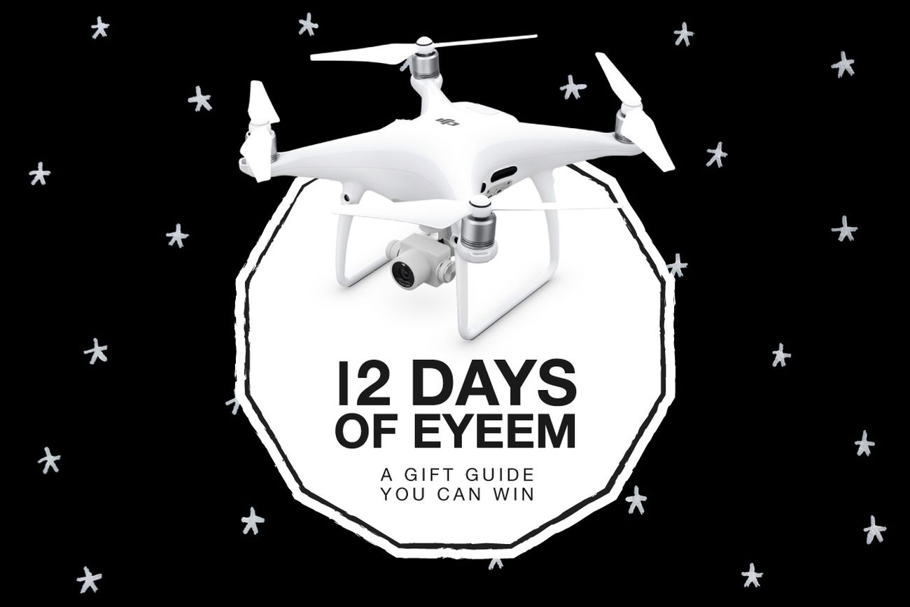 🎁 GRAND PRIZE: On the 12th (and final!) day of #12DaysOfEyeEm, my true love sent to me… a DJI Phantom 4 Pro drone! Take part in our Traveling Home For The Holidays Mission for your chance to win → https://www.eyeem.com/m/13208949