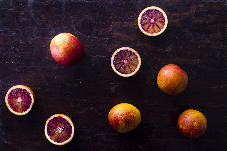 BLOOD ORANGE! Blood Orange Citrus Fruit Close-up Cross Section Day Food Food And Drink Freshness Fruit Grapefruit Halved Healthy Eating Indoors  Lemon No People Orange - Fruit SLICE Sour Taste Studio Shot Table Vitamin Whole