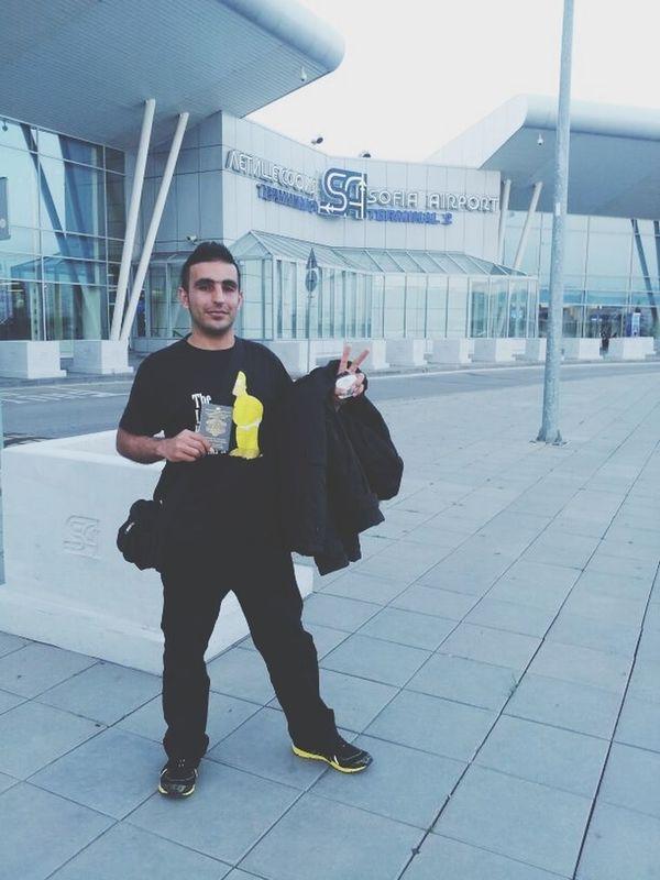 Alexander Eazel Sofia Airport