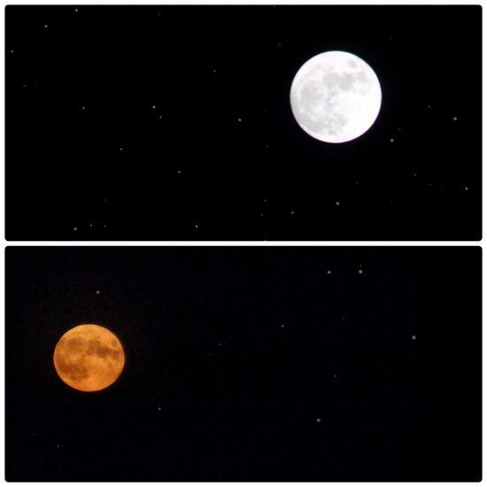 Full Moon Redmoon Nightphotography Faraway Silvermoon
