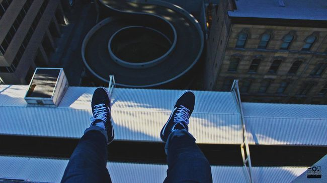Adrenaline💉 Person Shoe Urban City Life Architecture City Modern Adventure Adrenaline Junkie