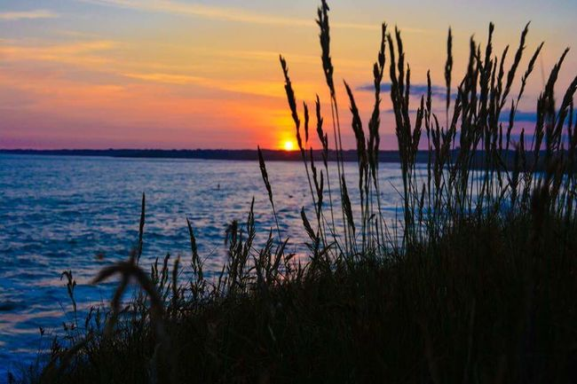 Sunset Summer Sea Sky Nature Tranquility Water Surf Skate Photography Wild Wildlife Guidel Lorient