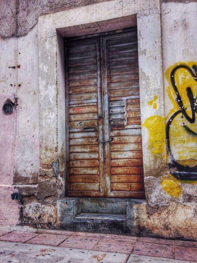 La puerta que nunca abrió Streetphotography IPhoneography Urban@ndante