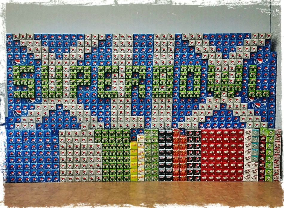 I love how creative the employees are at our local Walmart. Super Bowl XLIX Seahawks Creativity Walmart Port Orchard Washington Pacificnorthwest Game Day Football Seahawks 12th Man 12th Man