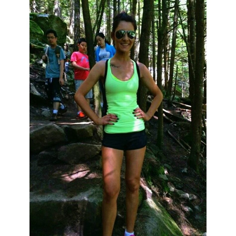 I love hiking !! Chiefround2 Loveit Bestday Beautifulbc grindtime??