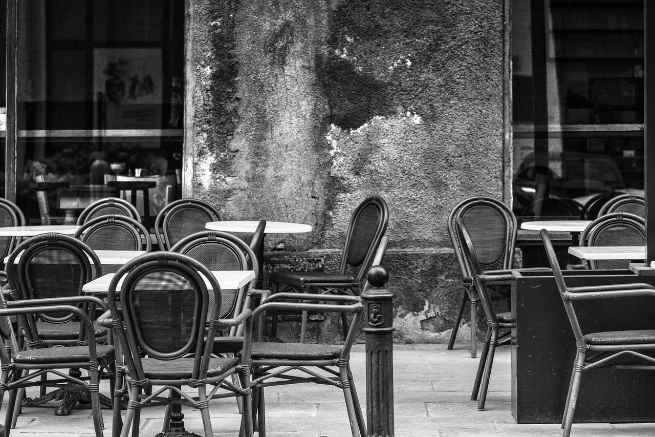 Abandoned Architecture Building Exterior Built Structure Chair Close-up Day No People Outdoors Seat Table