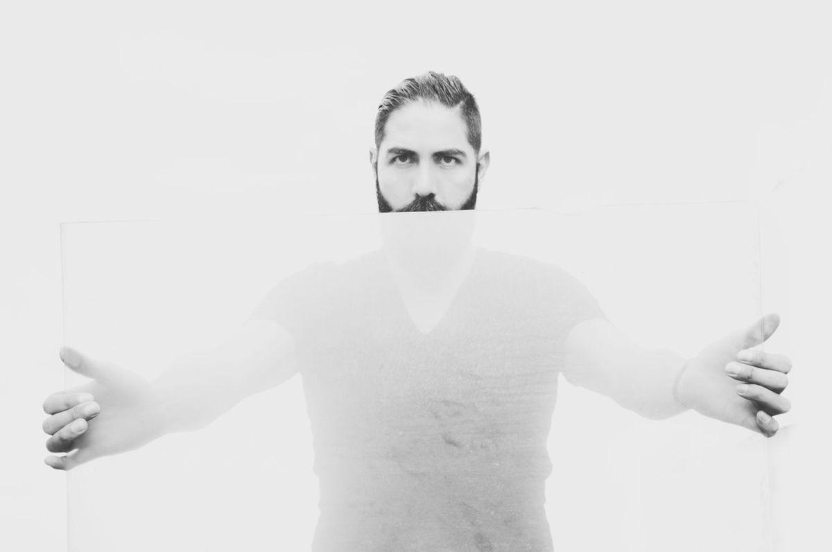 ThatsMe Thats Me ♥ Session Today's Hot Look Black And White Eyeembestshots - Black + White Black & White Model Beard Beardlife