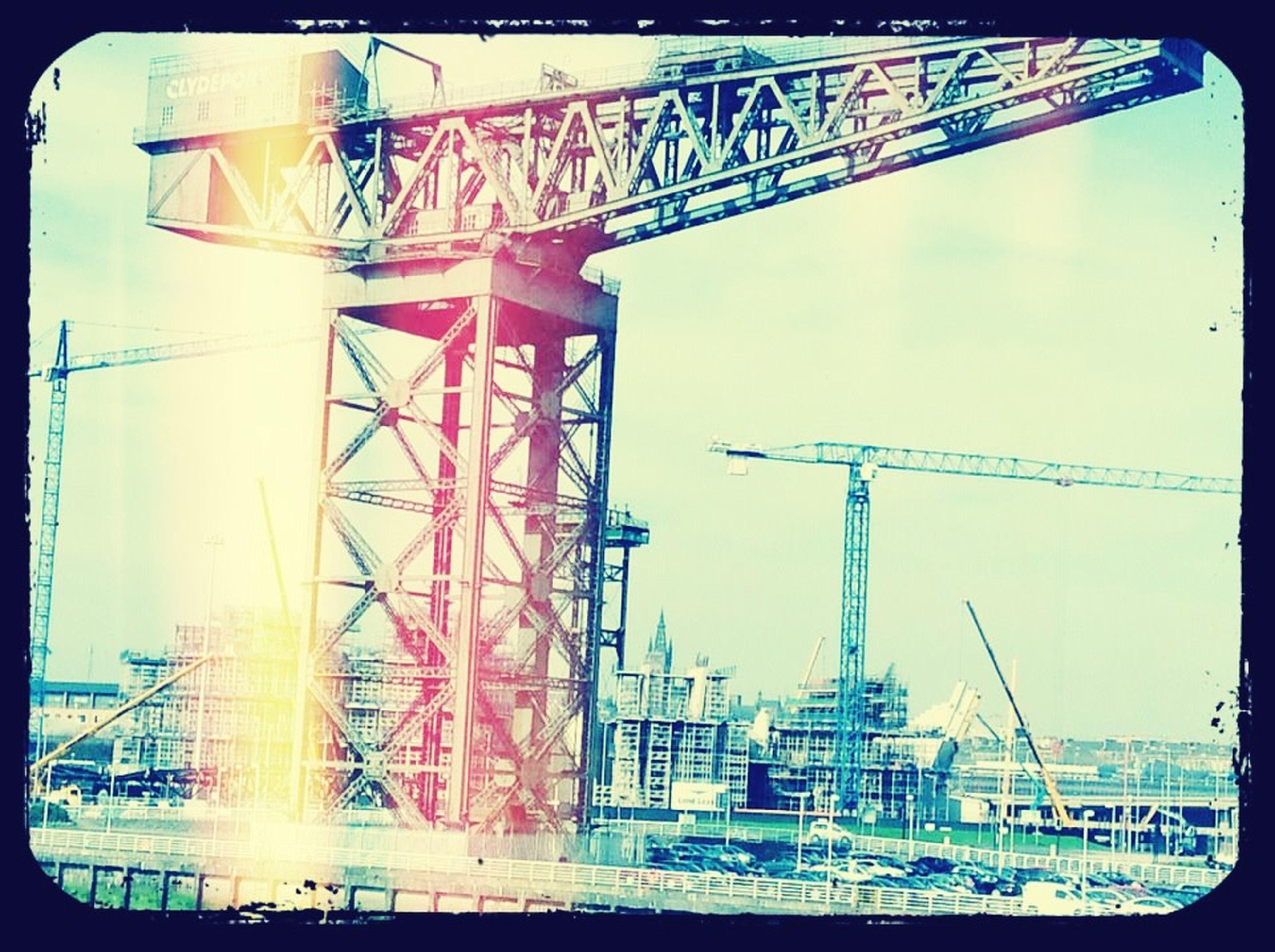Clyde built. Glasgow  Clydeside Clyde Built Glasgow Crane