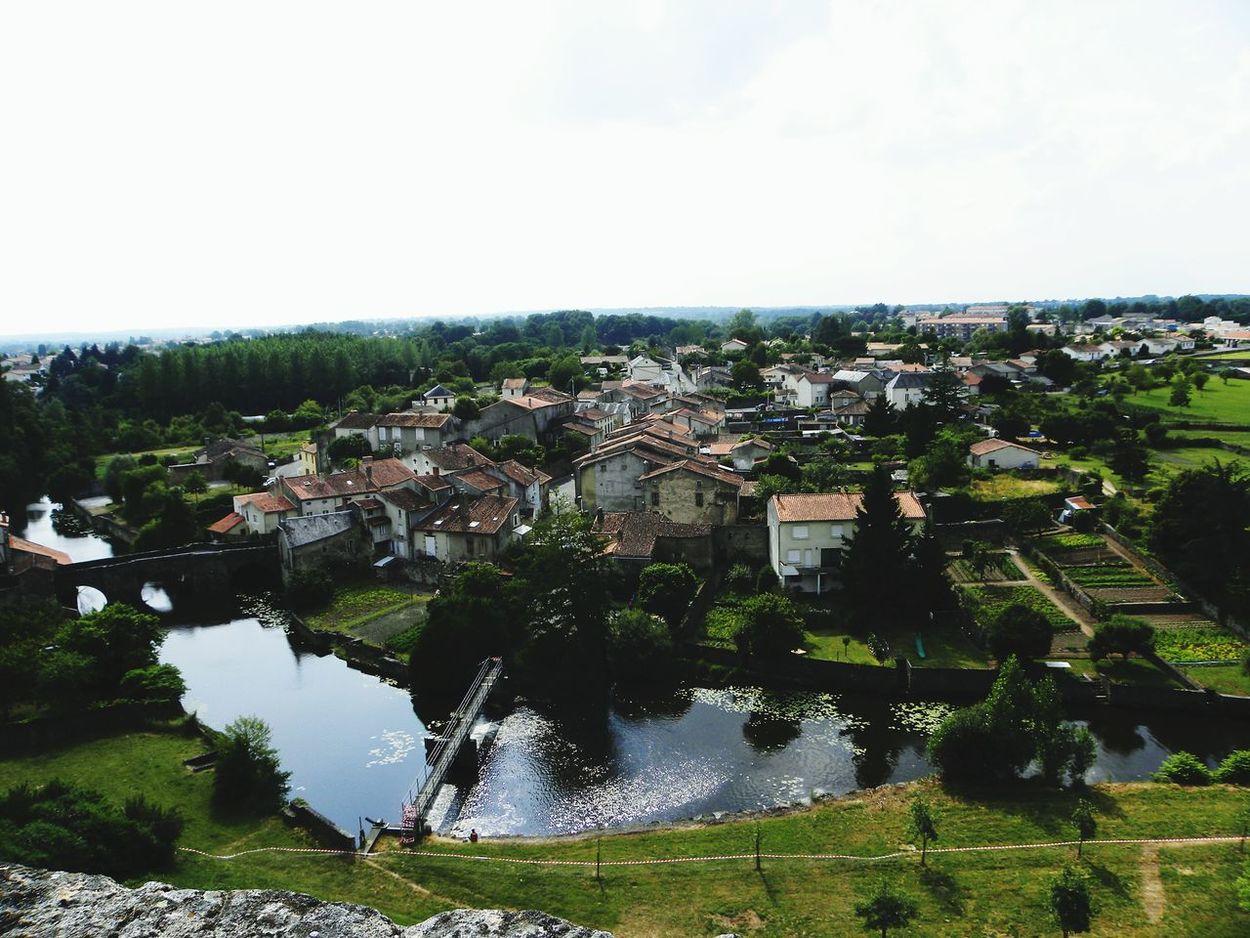 Architecture Cityscape Outdoors Water Cloud - Sky Village Deux-Sèvres Parthenay France🇫🇷 Nikon Nikon Coolpix P90 Coolpix P90 EyeEmNewHere