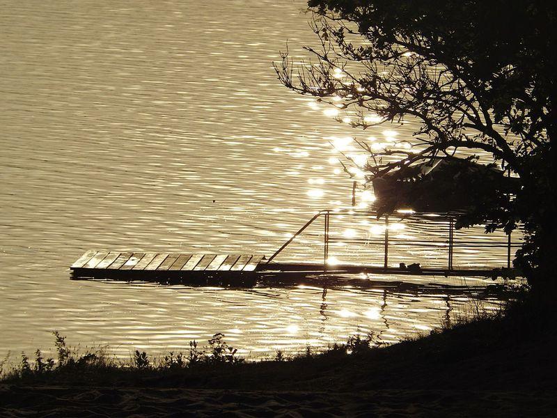 Personal Favourite Lieblingsbild Romantic Wasser Steg Siluette So Schön! ♡ Ich Liebe Es.♥  Nature Sonnenuntergang Bestes