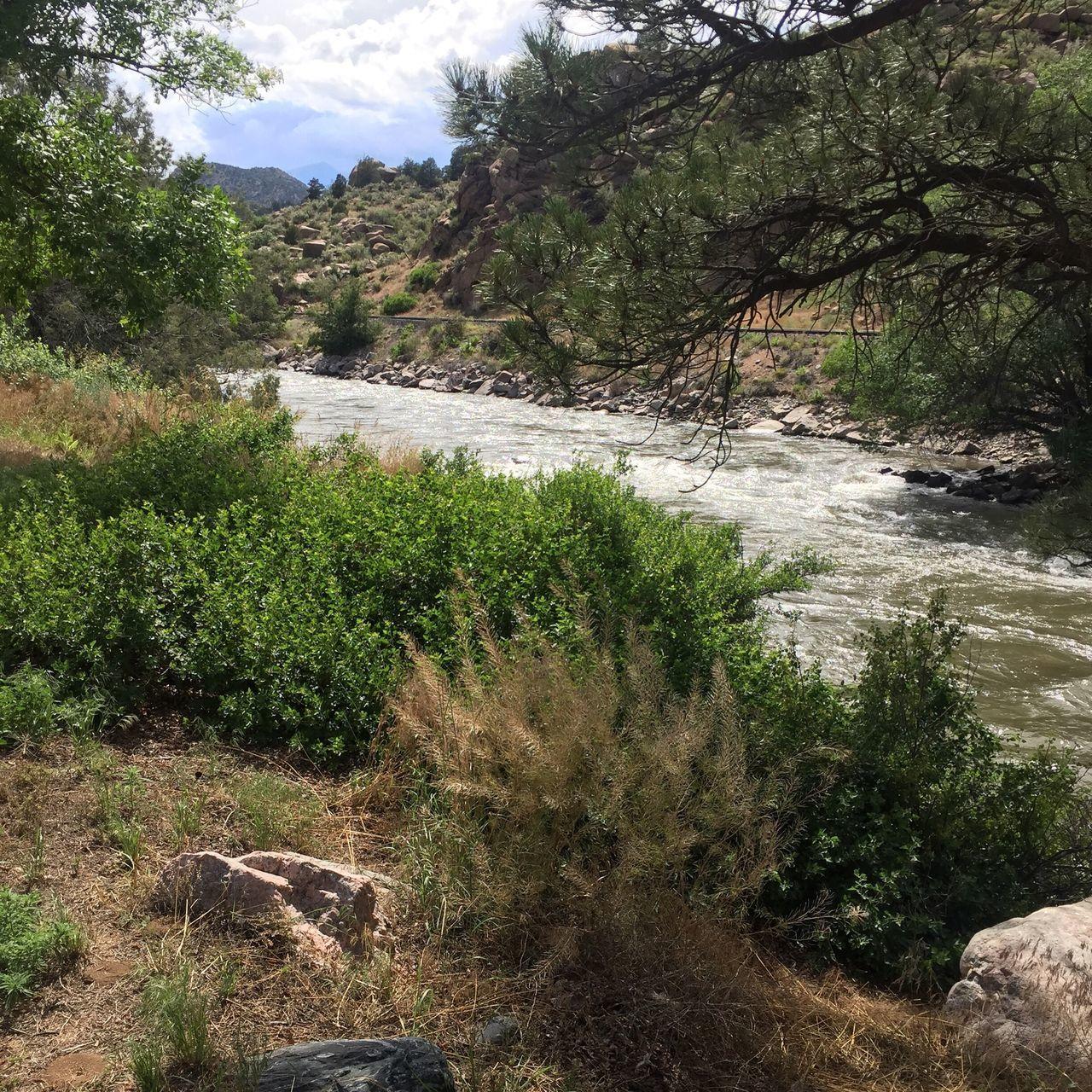 Colorado Arkansas River River Nature Countryside Non-urban Scene Scenics