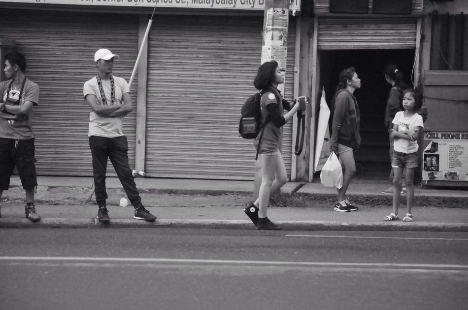 EyeEmNewHere Real People Standing Streetphotography Street Streetphoto_bw Streetph Bukidnon Bnw