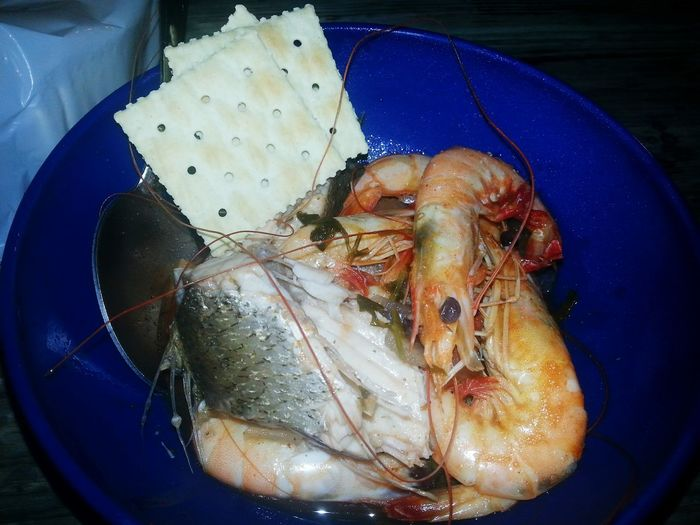 Chow Time Seafood Lovers shrimp and fish soup Pablo Picoso Style Seafood Collection