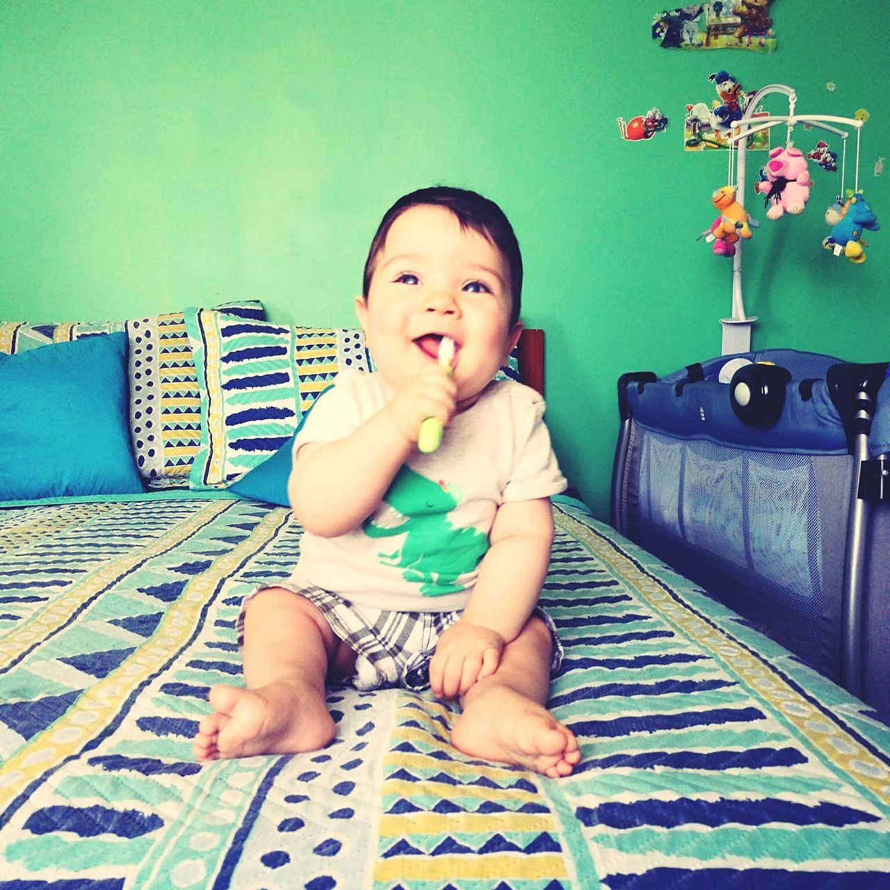 My Year My View Baby Baby Clothing Day Chile Brushing My Teeth Little Boy My Love Chile♥ Summer Babyboy