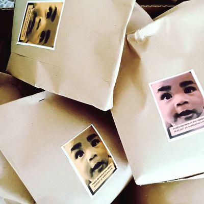 Muhammad Abid Umar my love. Paperbag Baby Boy Baby Boy Kenduri Aqiqah EyeEm Selects No People Box - Container Indoors  Close-up Day