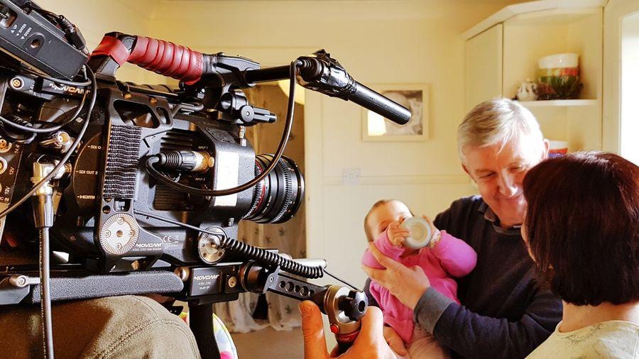 Filming Advertising Videomarketing Over50