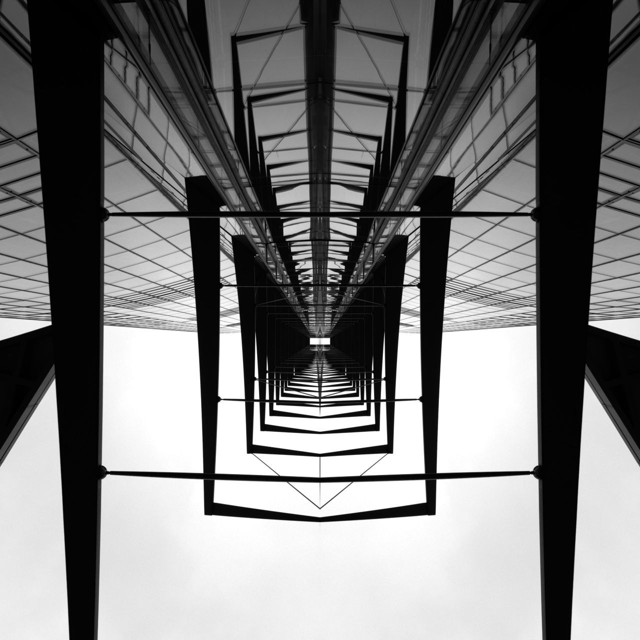 Bonn Posttower Symmetry Architecture Blackandwhite Fineart Architecturelovers