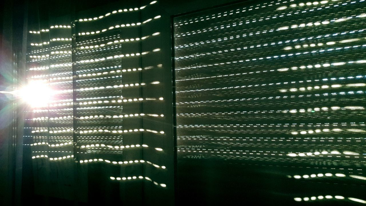 sunlight, no people, pattern, indoors, backgrounds, illuminated, close-up, nature