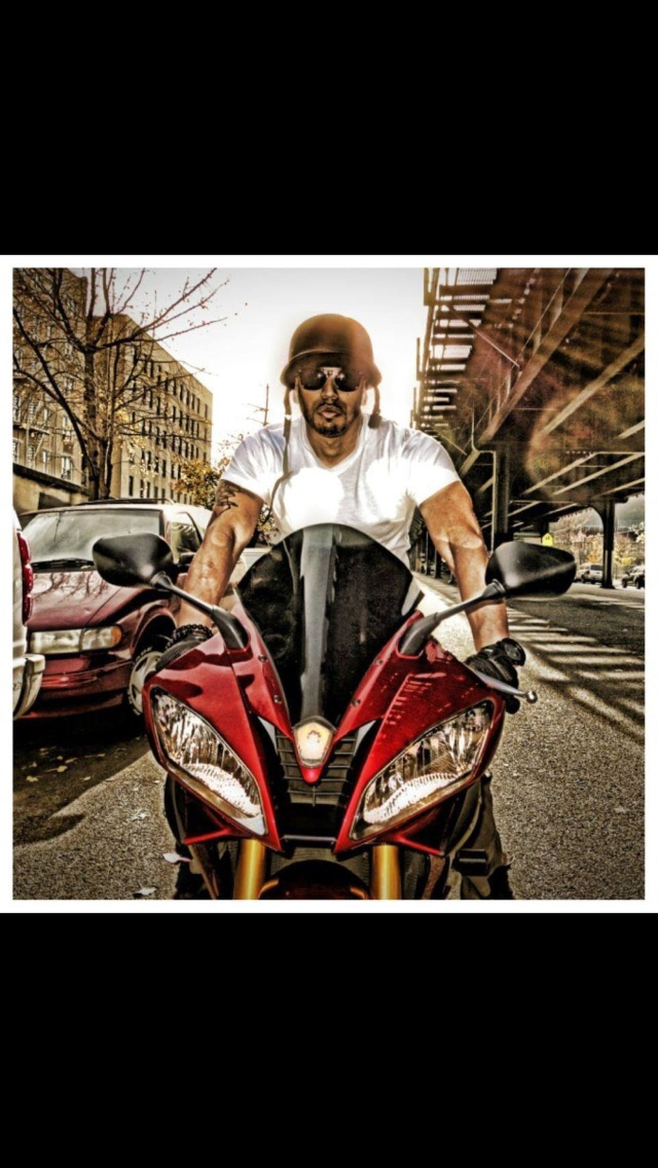 Riding Bronx Photo Shoot New York Enjoying Life Making Noise Stylin On Em (;