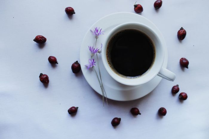 High Angle View Food And Drink Directly Above Food Drink Still Life Photography Dried Food Coffee At Home Coffee Cup White Cup The Week On EyeEm Tadaa Community EyeEm Gallery საქართველო EyeEm Best Shots Briar Berries Food Stories