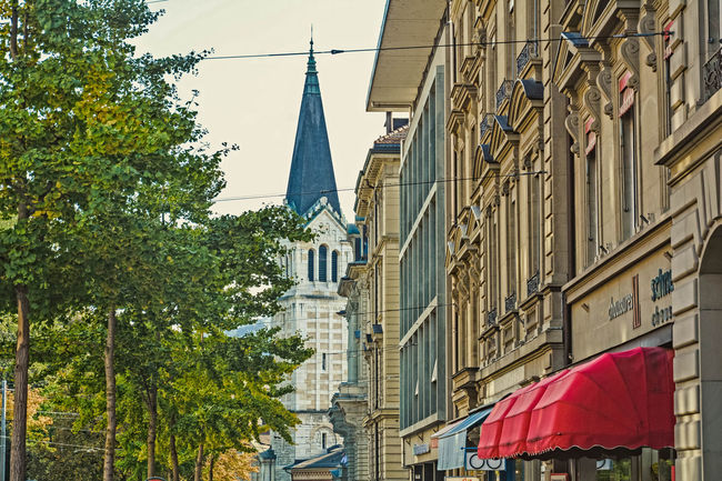Architecture Bern Building Exterior Church Cityscapes HDR Suisse  Swiss Switzerland Traveling