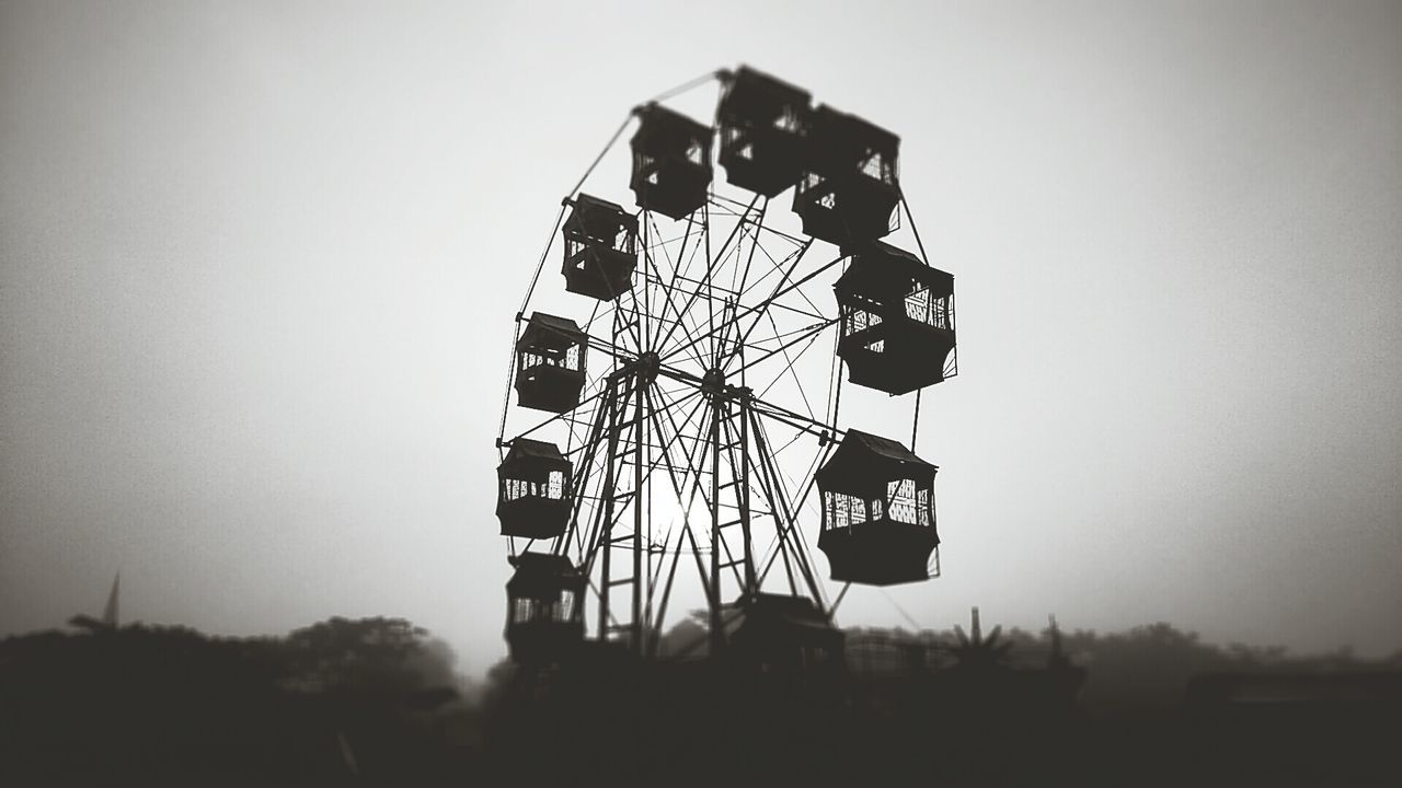 early morning at the carnival Monochrome Monochrome Photography Morning Silhouette Xperiaphotography Eye4photography