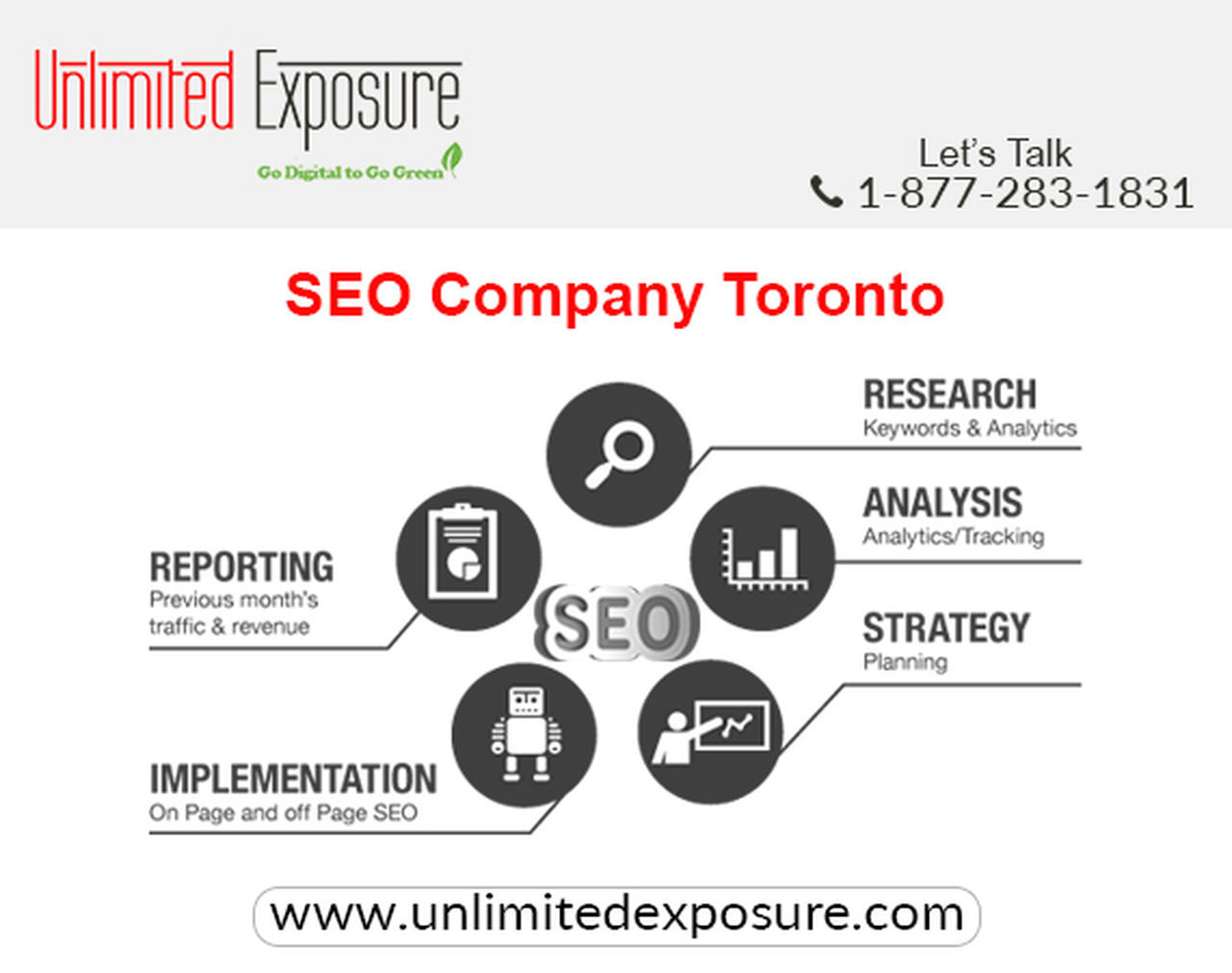 Unlimited Exposure Online, leading Search Engine Optimization Company in Toronto, providing SEO services to all size business since 1997. Unlimited Exposure invests intensive efforts in streamlining the keywords, SEO strategies, implementation and evaluation. Our experience and proficiency help us to optimize the SEO services according to defined budgets and priorities. More Details :- http://www.unlimitedexposure.com Seo SEO Services Smo, First Eyeem Photo