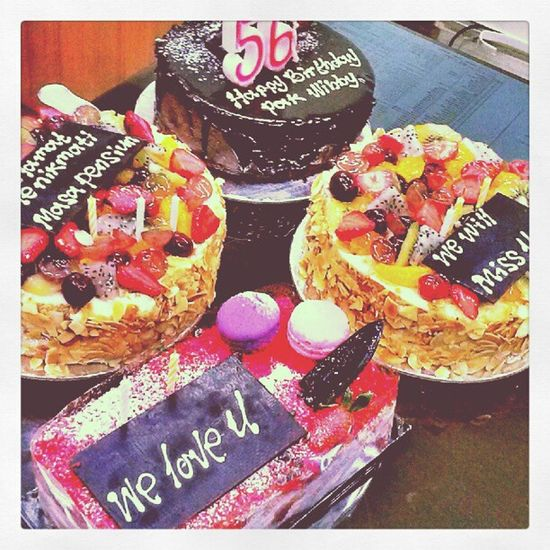 HBD, congrulations Surpriseparty Cake Harvest Wish GBU