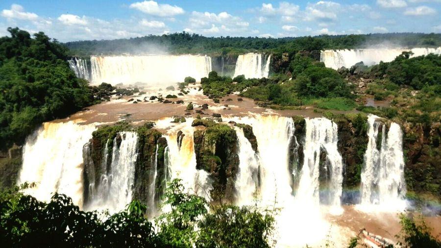 Cataratas de iguazu Tourism Water First Eyeem Photo