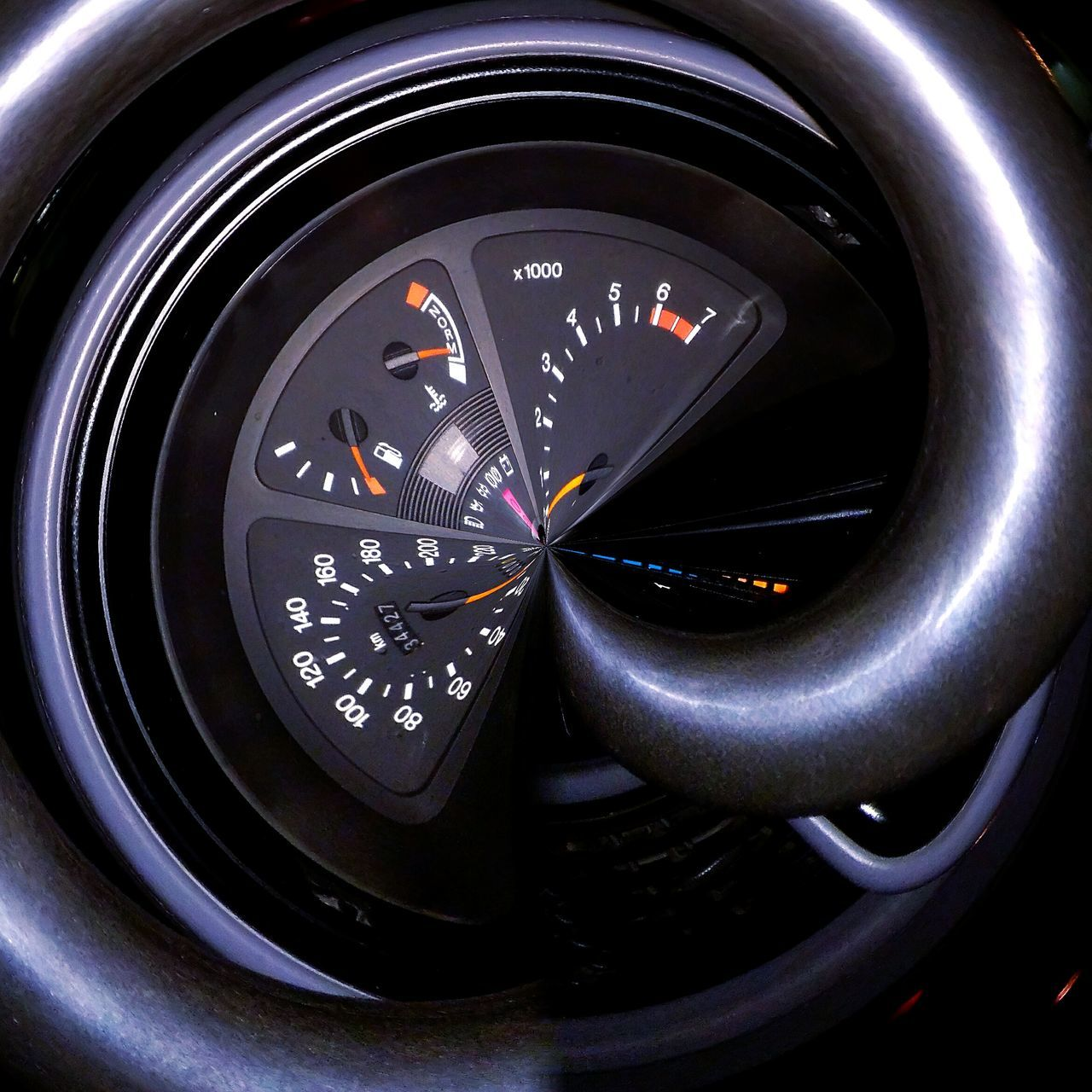 Using some effects on my car's steering wheel Close-up Bulgaria Varna Getting Inspired Varna2017 No People EyeEmNewHere Night Life Night Photography And? Perspective Say What You Wanna Say.  ExpressYourself Trueemotion City Outdoors Car Interior Car Car Steering Wheel Steering Wheel Wheel Ford Sierra Ford Sierra