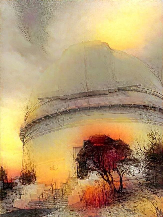 Observatory Observatory Melancholic Landscapes Architecture Cloud - Sky Playing With Apps  Palomar