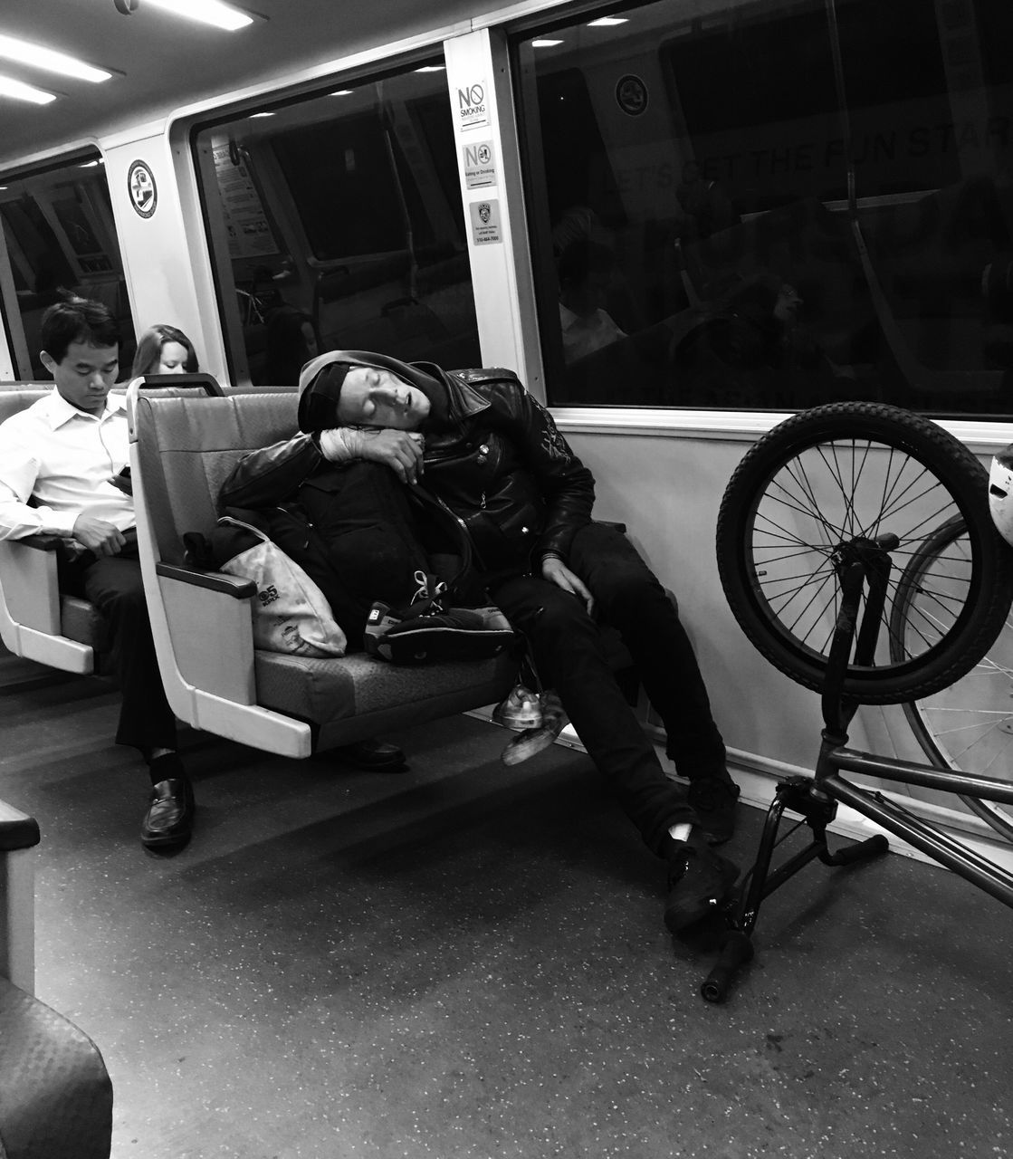 transportation, indoors, full length, real people, wheelchair, men, day, people