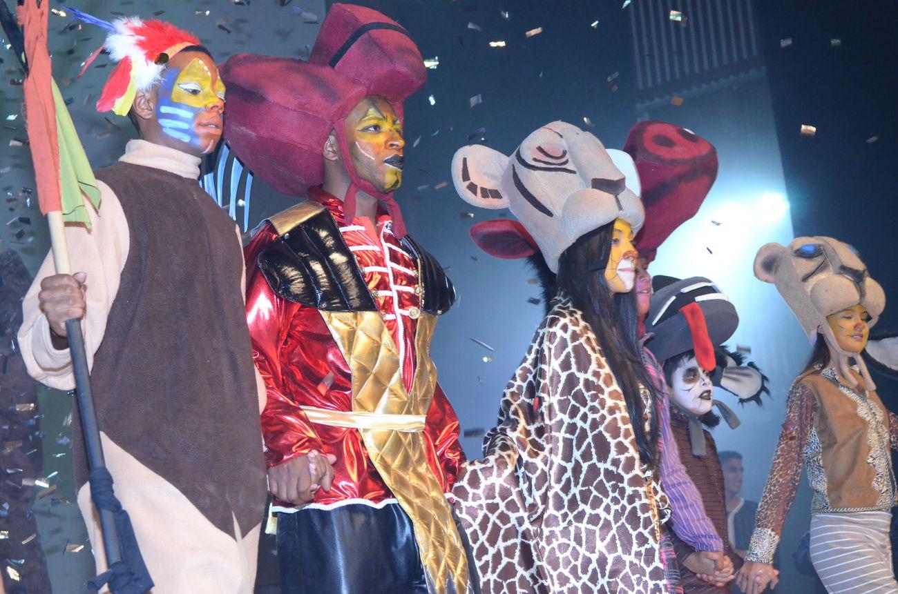 musical del rey leon colegio santiago felipe First Eyeem Photo
