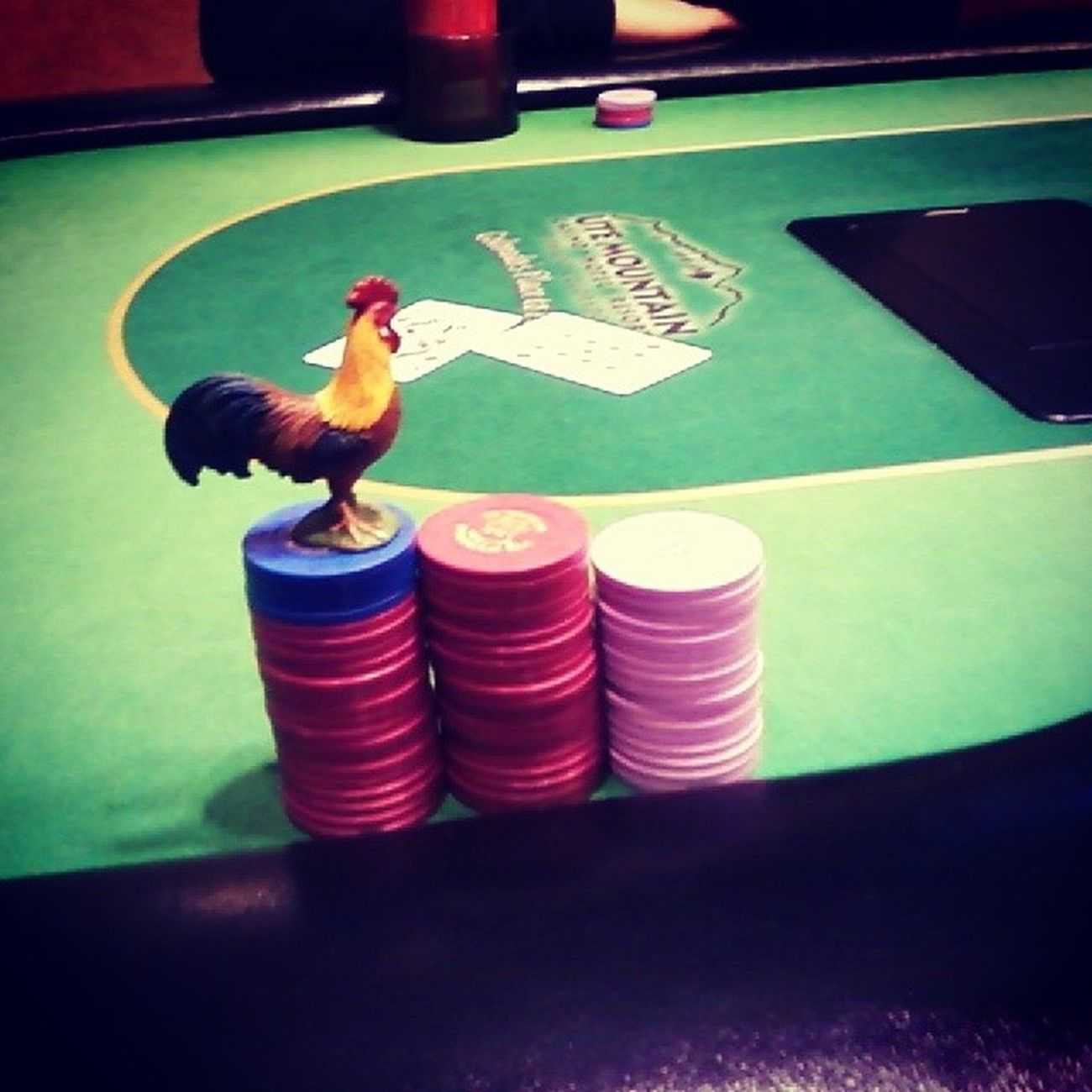 Poker night Iam Chipleader