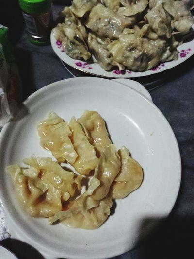 Brunch Around The World Dumpling  My mom's dumplings, fruit fillings tastes good