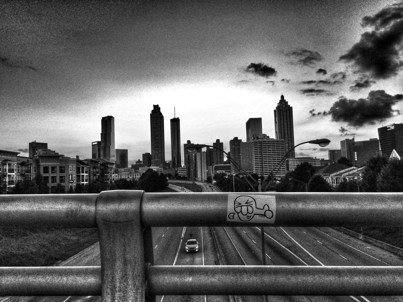 Urban Landscape Blackandwhite