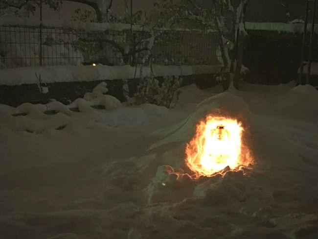 Snow Lamp Kamakura 雪 ランプ かまくら