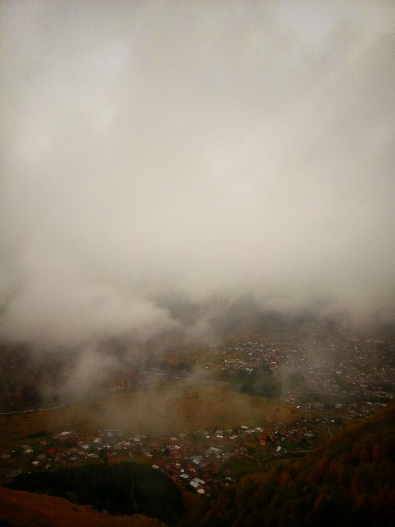 Fog Landscape Nature Mountain Day Mistic Place Foggy Village ManyColors Eye4photography