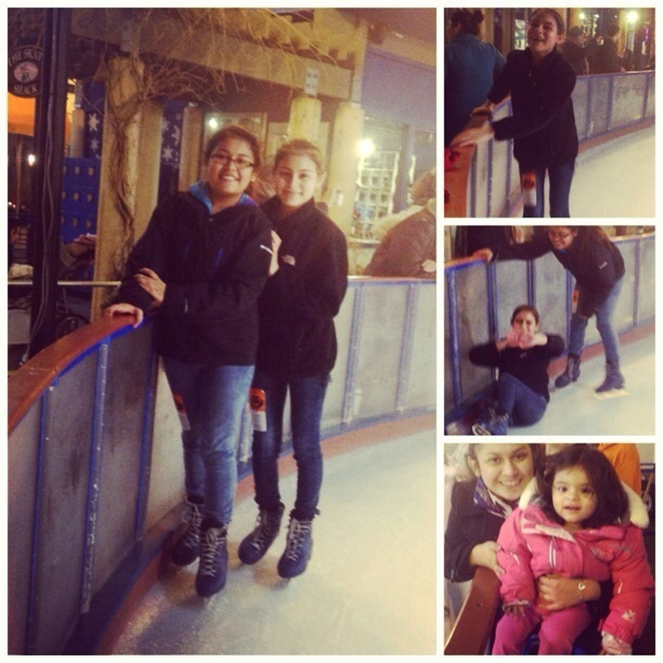Yesterday ❤ Ice Skating