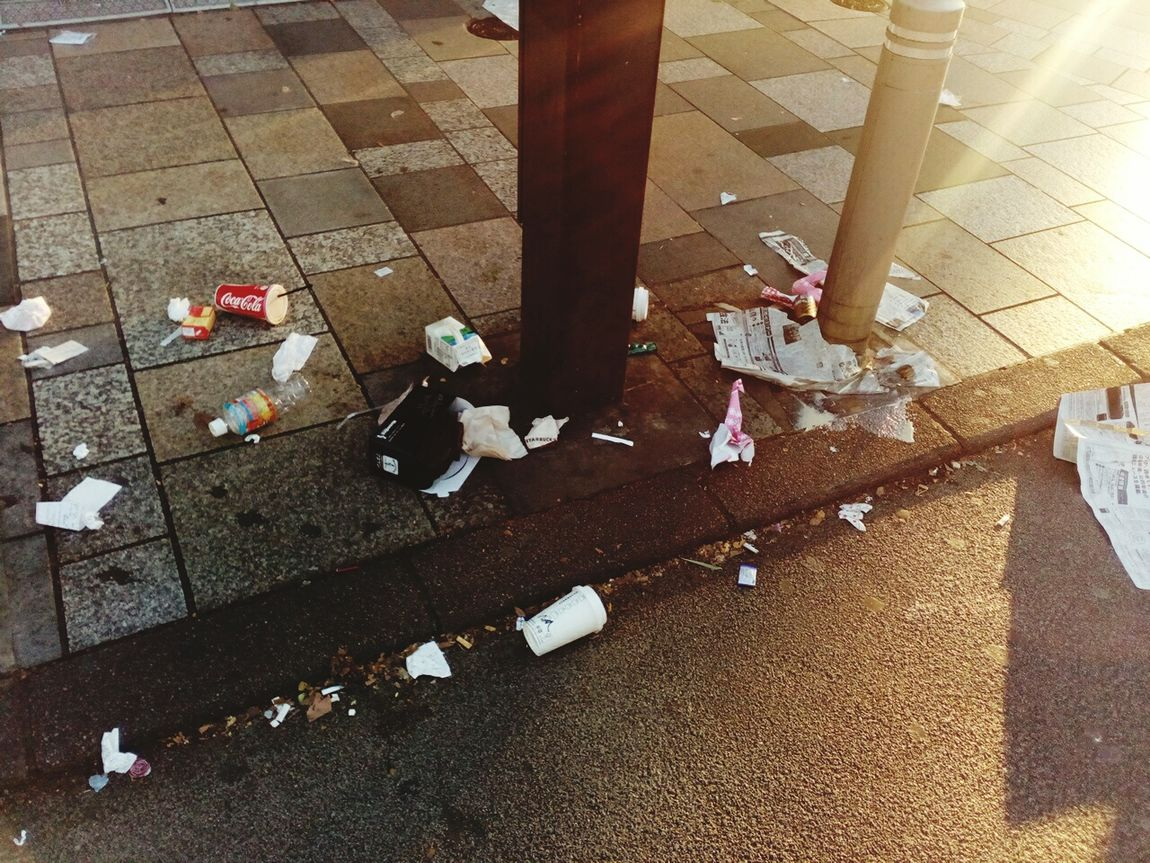 this is the reality Light And Shadow Day Outdoors Lifestyles Street You? City Road No People Sun