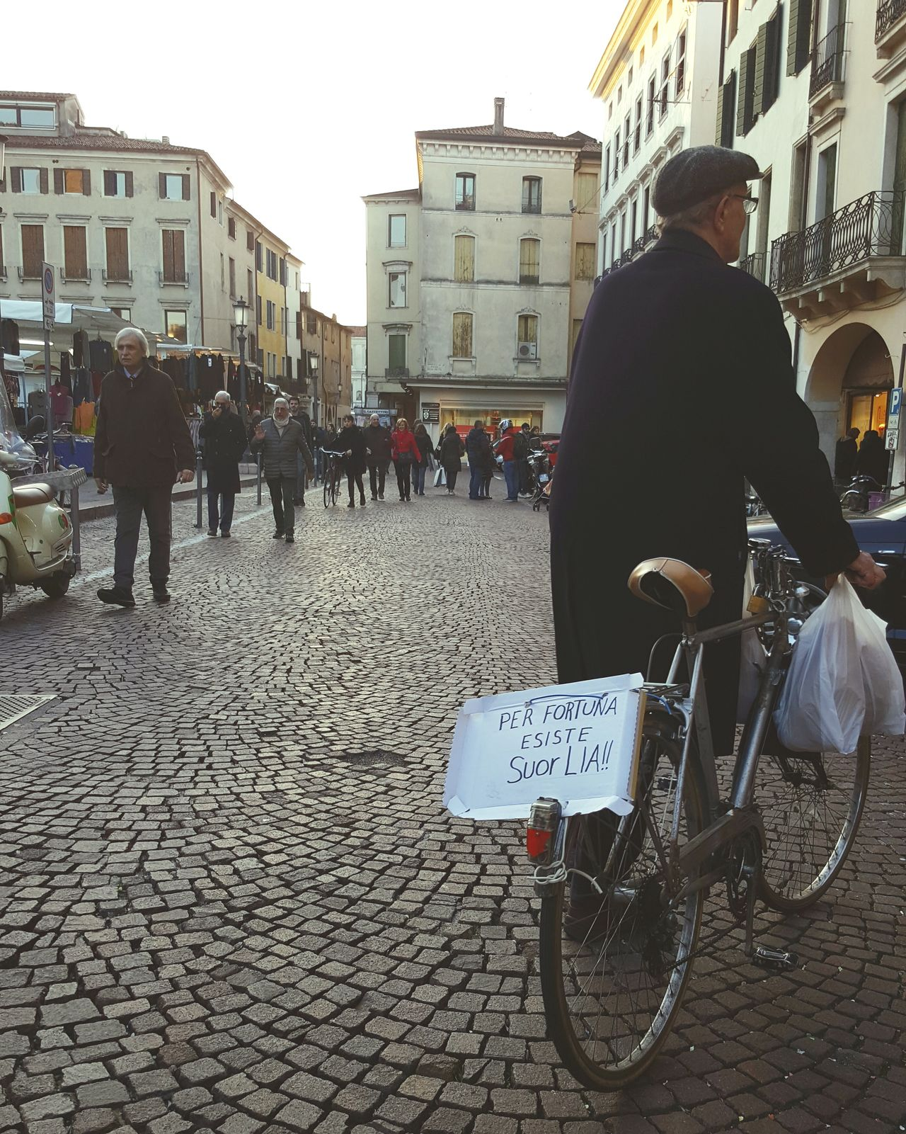 Streetphotography City Building Exterior Street City Life Outdoors Real People People One Man Only Padova Italia Daytime Saturday
