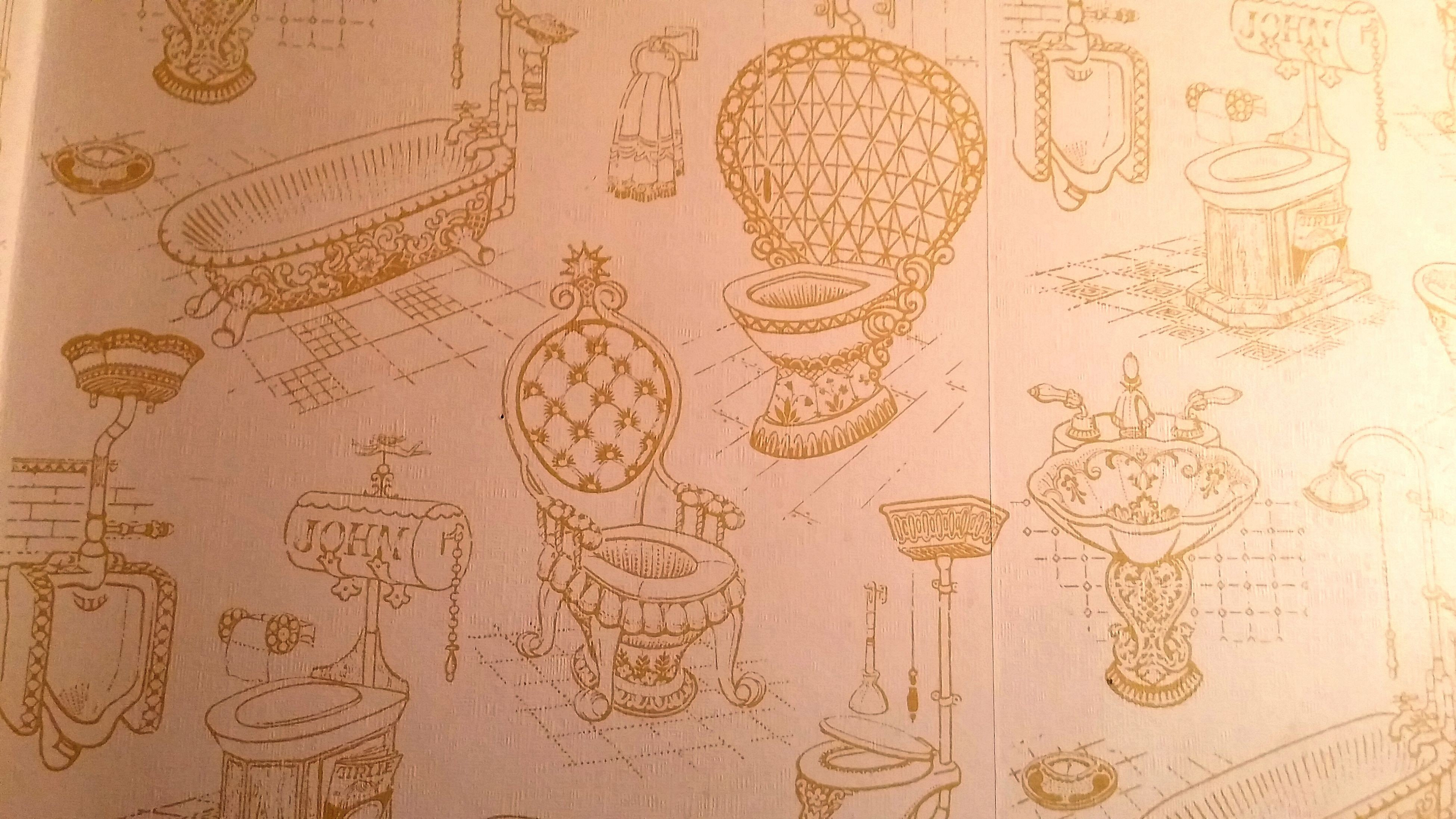 The John Wallpaper Throne Room Fun Stuff