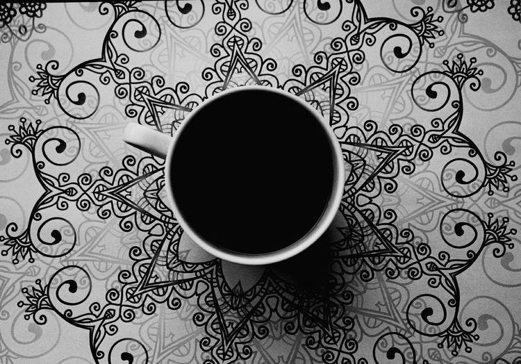 Coffee Time Hi! Cup Relaxing Enjoying Life